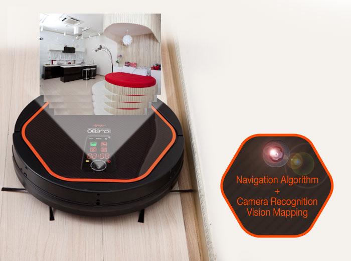 inteligentní a precizní úklid robotického vysavače iClebo Arte