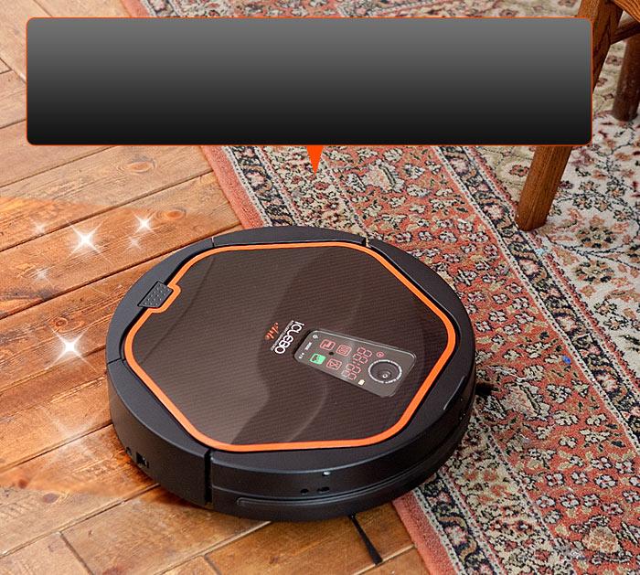 Robotický vysavač iClebo Arte překoná vysoké překážky