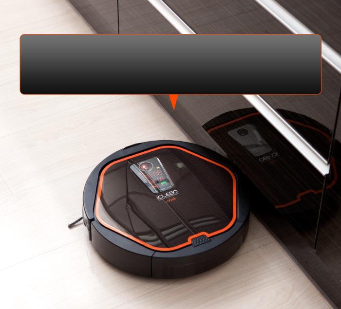 iClebo Arte čistí všechny podlahy, používá litium ion baterii a HEPA filtr.