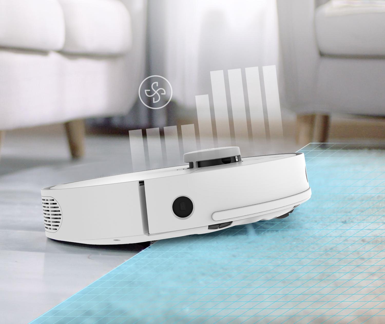 360 S5 - Automatická detekce koberců