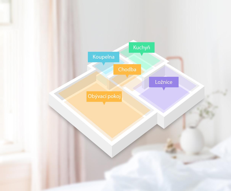 360 S5 - Inteligentní mapování místností