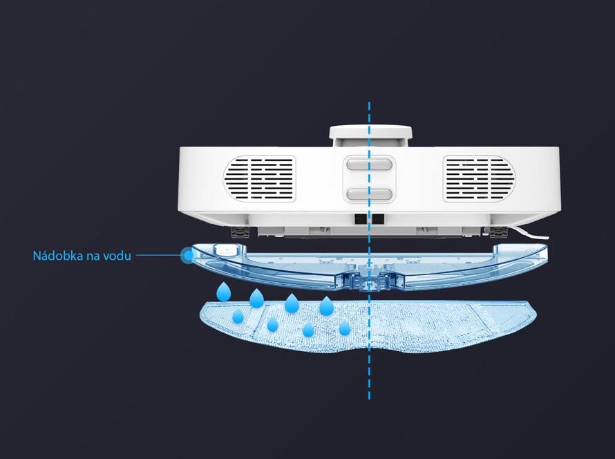 360 S6 - Vysává a vytírá zároveň