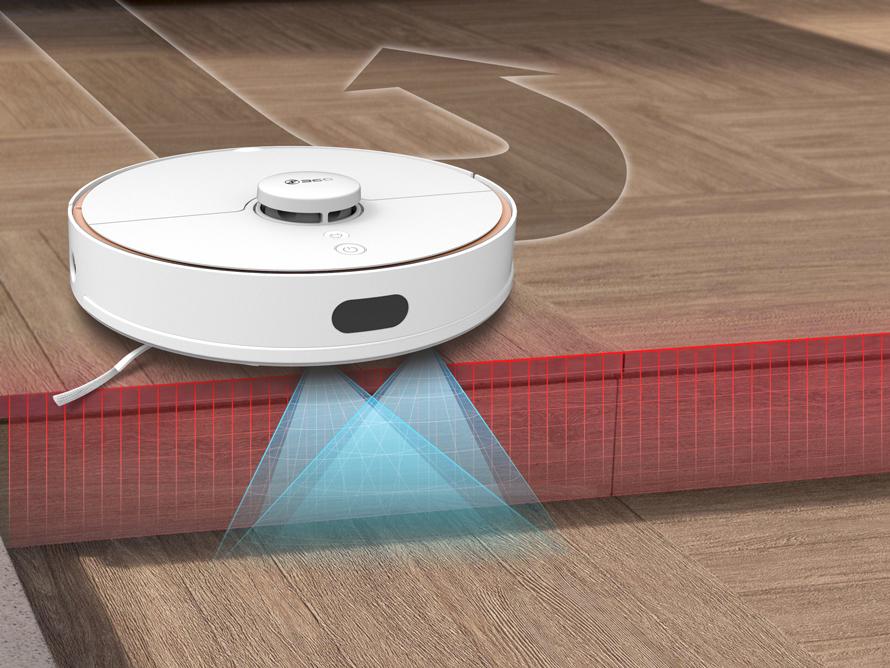 360 S7 - Protipádové senzory