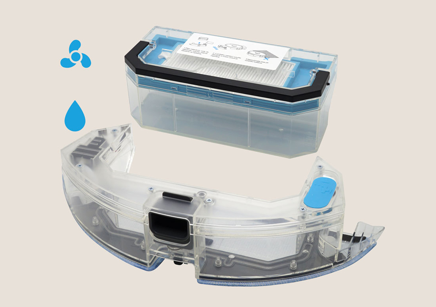 Cleanmate LDS700 - Zásobník 2v1 na vodu a nečistoty