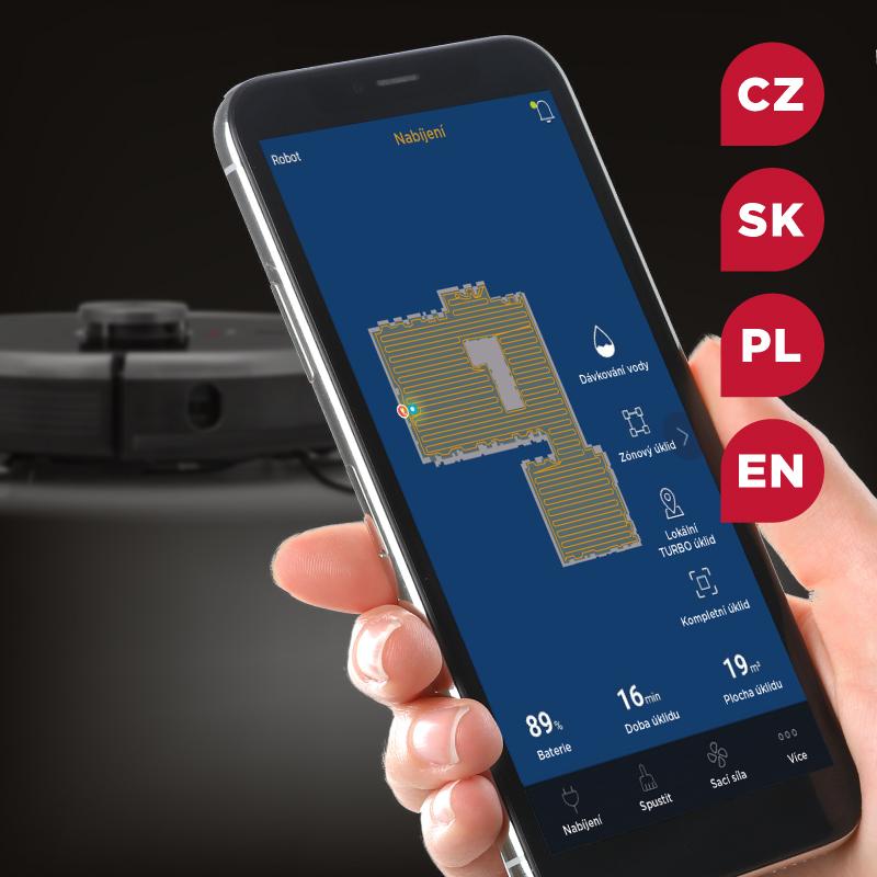 Concept VR3210 3v1 Mobilní aplikace