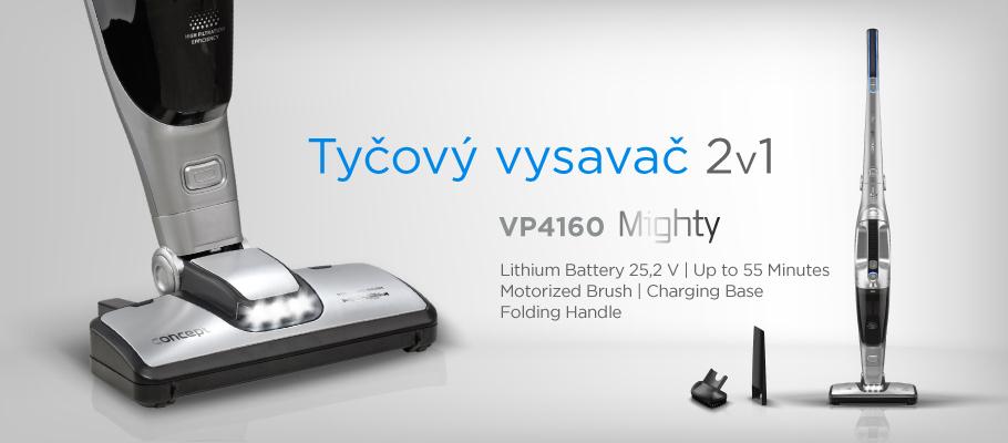 Concept VP4160 aku vysavač