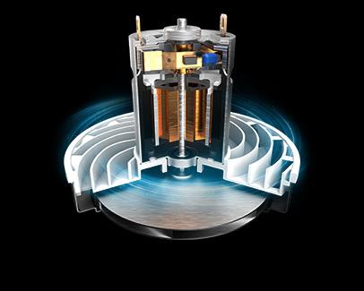 Concept VP6010 Výkonný BLDC motor