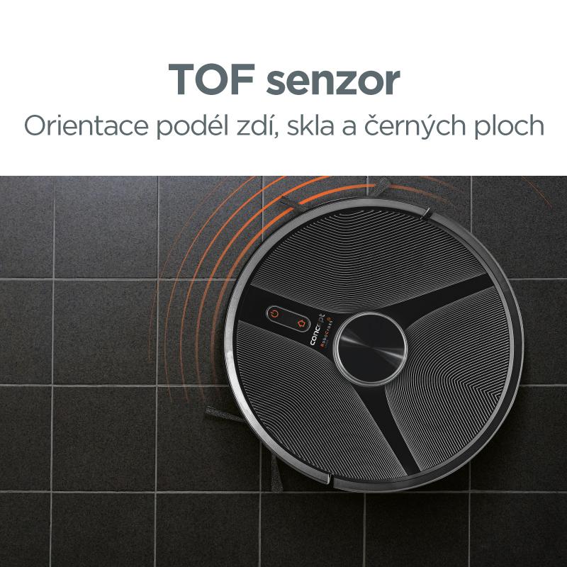 Concept VR3110 2v1 RoboCross Laser - TOF senzor