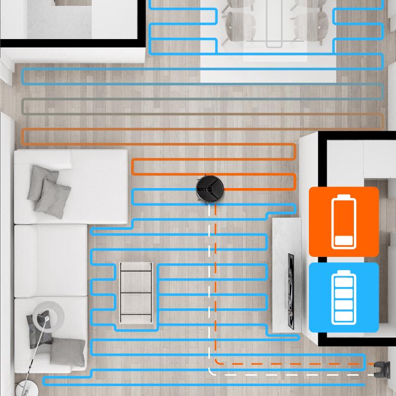 Concept VR3110 2v1 RoboCross Laser - Total surface
