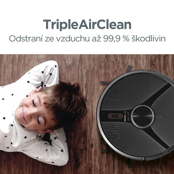 Concept VR3110 2v1 RoboCross Laser - Triple Air Clean