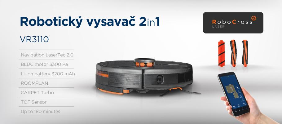 Concept VR3110 2v1 RoboCross Laser představení