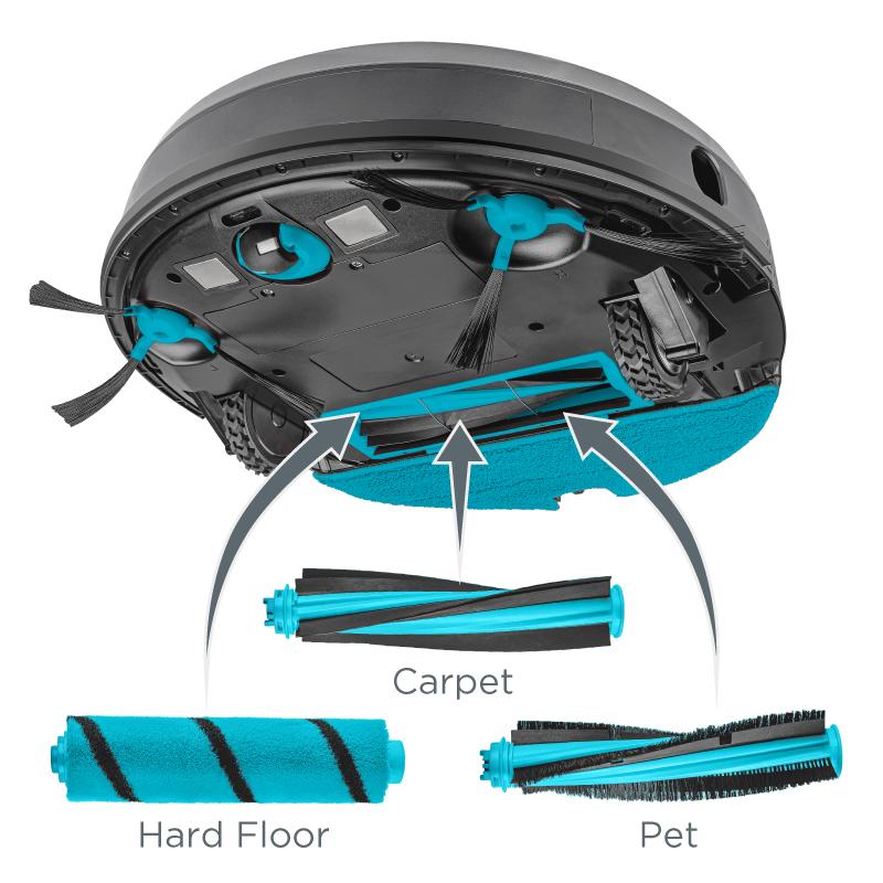 Concept VR3120 2v1 Perfect Clean Laser - Přizpůsobí se vaší domácnosti