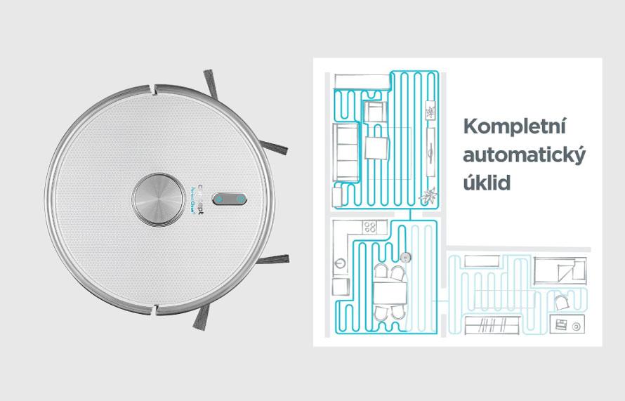Concept VR3120 2v1 Perfect Clean Laser - Kompletní automatický úklid