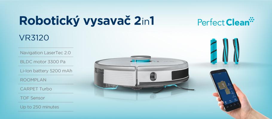 Concept VR3120 2v1 Perfect Clean Laser představení