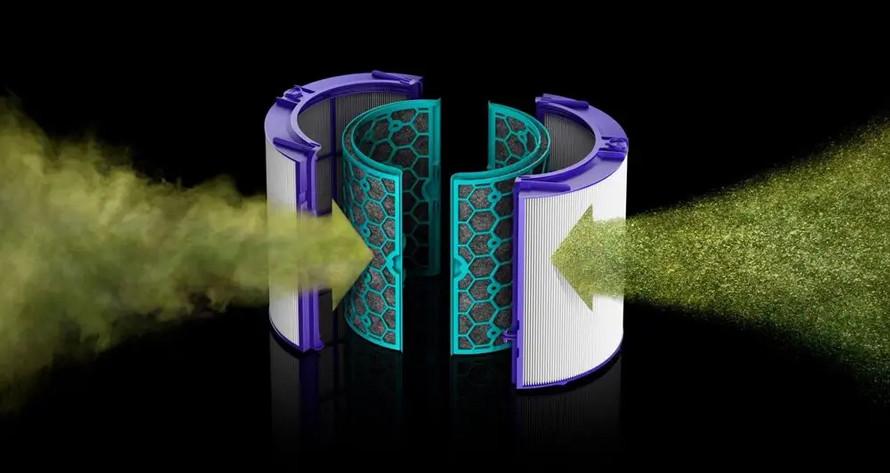Dyson Pure Hot+Cool Link HP04 pracuje automaticky