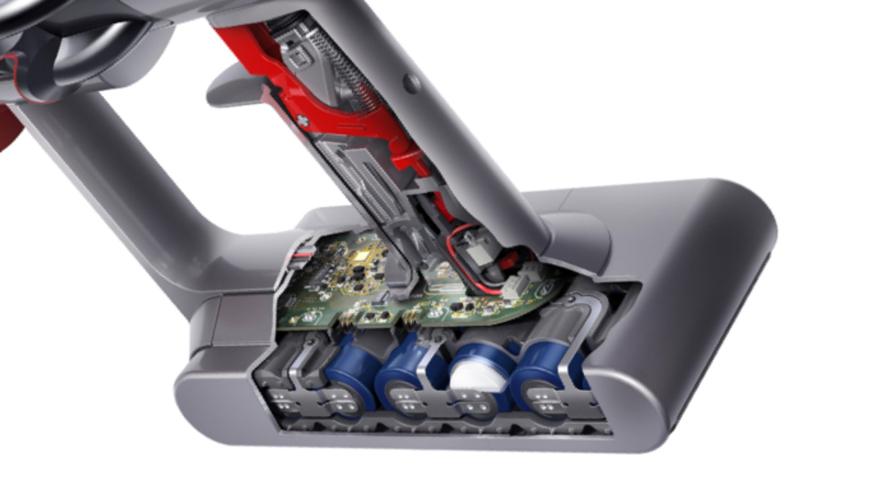 Dyson V11 Absolute Extra Pro - Jedinečný systém řízení výkonu baterie