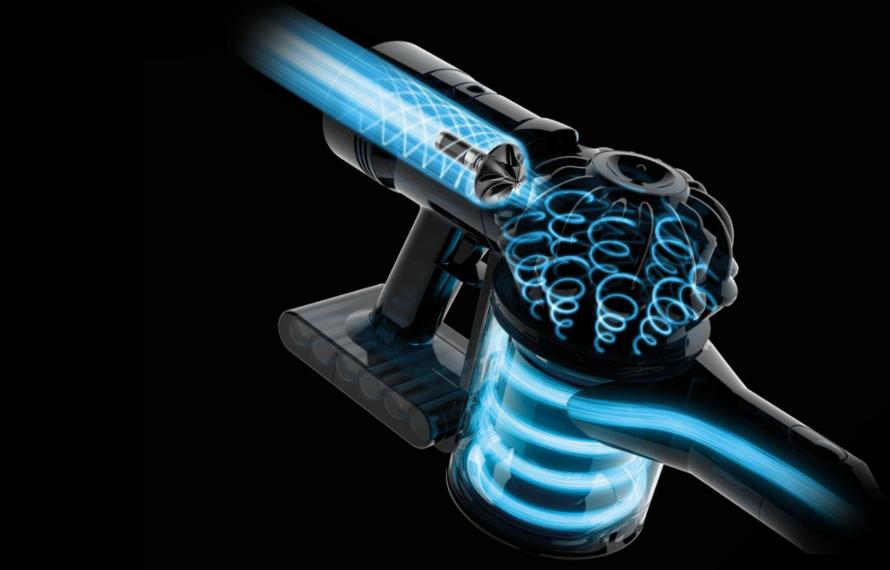 Dyson V8 motorhead - digitální motor