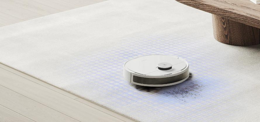 Ecovacs Deebot n8 detekce koberců