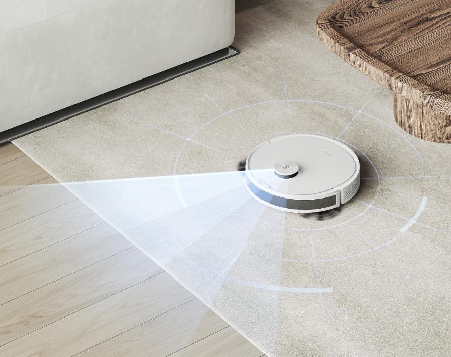 Ecovacs Deebot n8 - inteligentní senzory