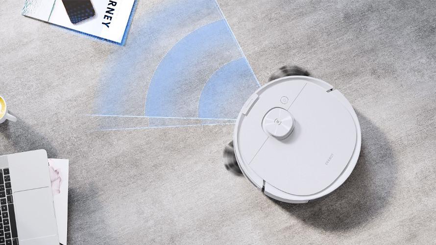 Ecovacs Deebot n8 pro plus - inteligentní senzory