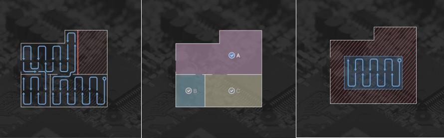 Ecovacs Deebot t9 - editace mapy