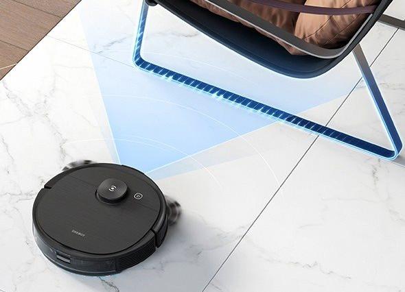 Ecovacs Deebot OZMO T8 AIVI  inteligentní senzory