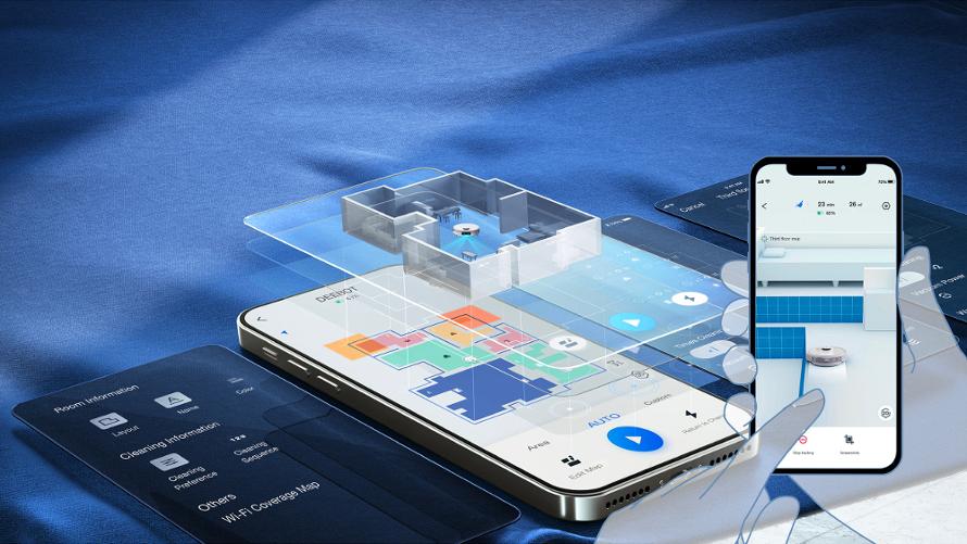 Ecovacs Deebot t9 - mobilní aplikace