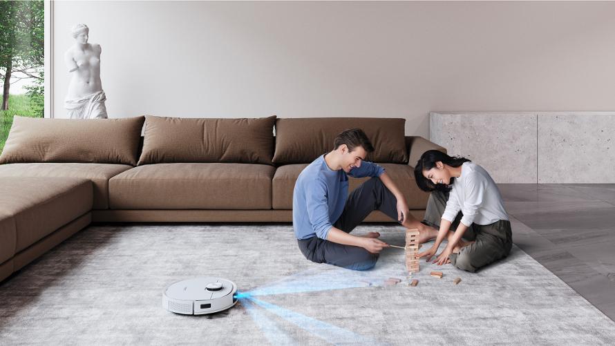Ecovacs Deebot t9 - inteligentní senzory