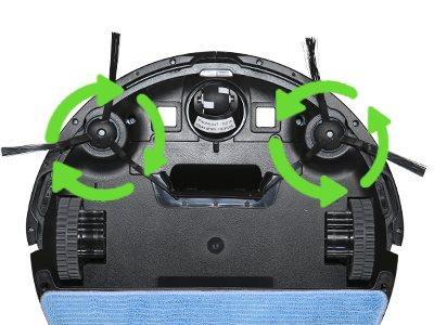Evolveo RoboTrex H6 dva kartáče