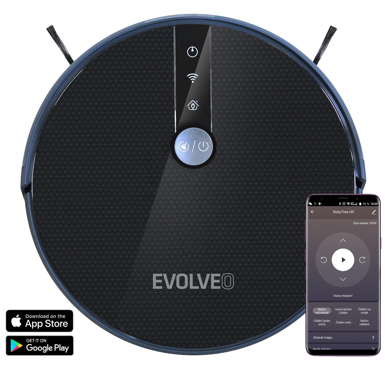 Evolveo RoboTrex H9 mobilní aplikace