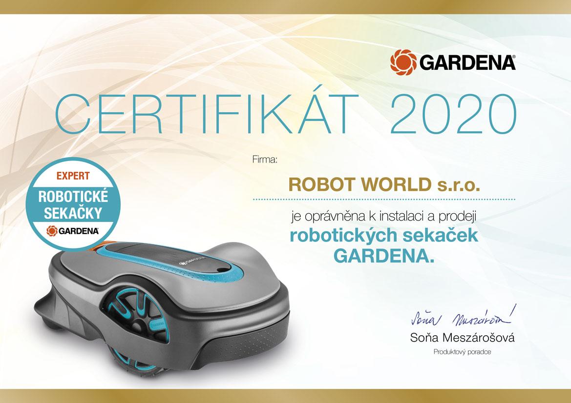 robot world certifikovany partner gardena