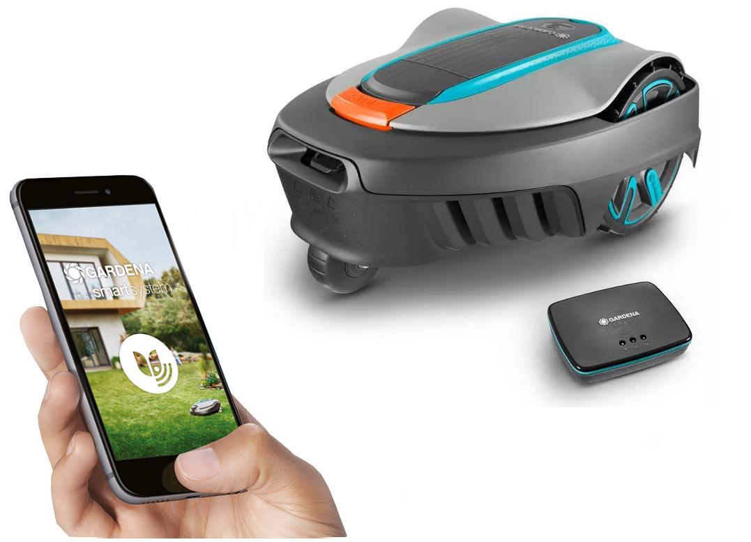 Gardena sileno city 250 smart aplikace
