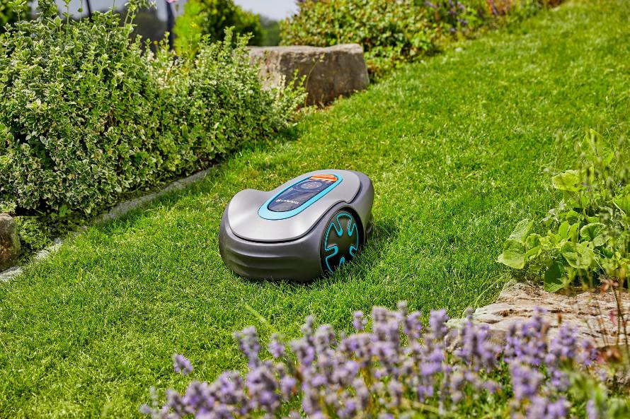 Gardena Sileno minimo - ideální pro malé komplexní travnaté plochy