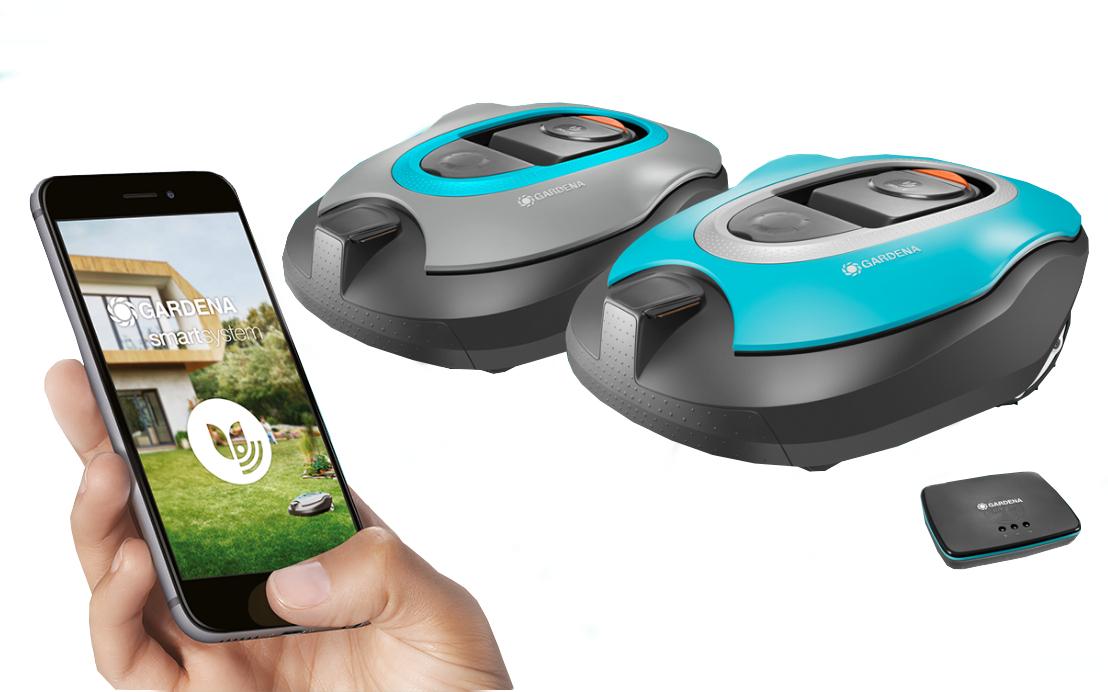 Gardena R130Li smart aplikace