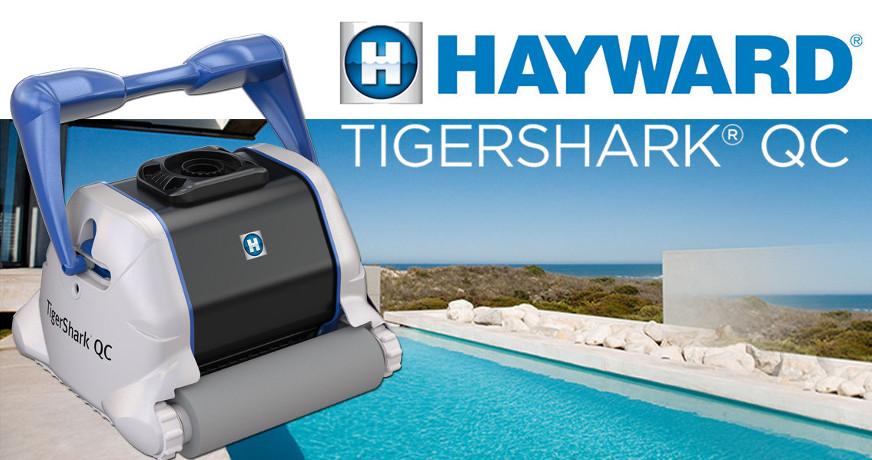 Hayward TigerShark Qc spuštění