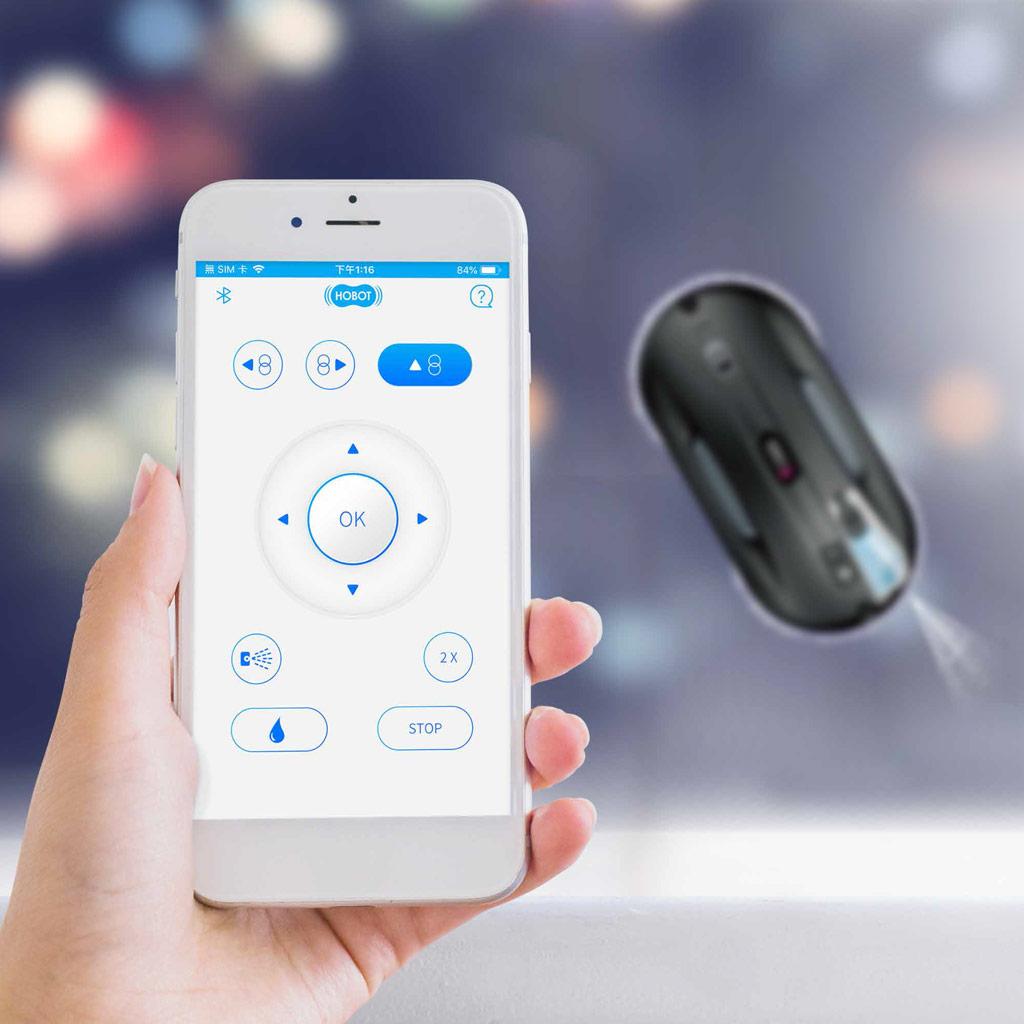 Hobot 388 - Ovládání pomocí telefonu