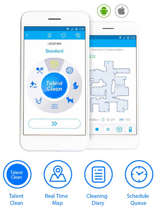 Hobot Legee 688 app