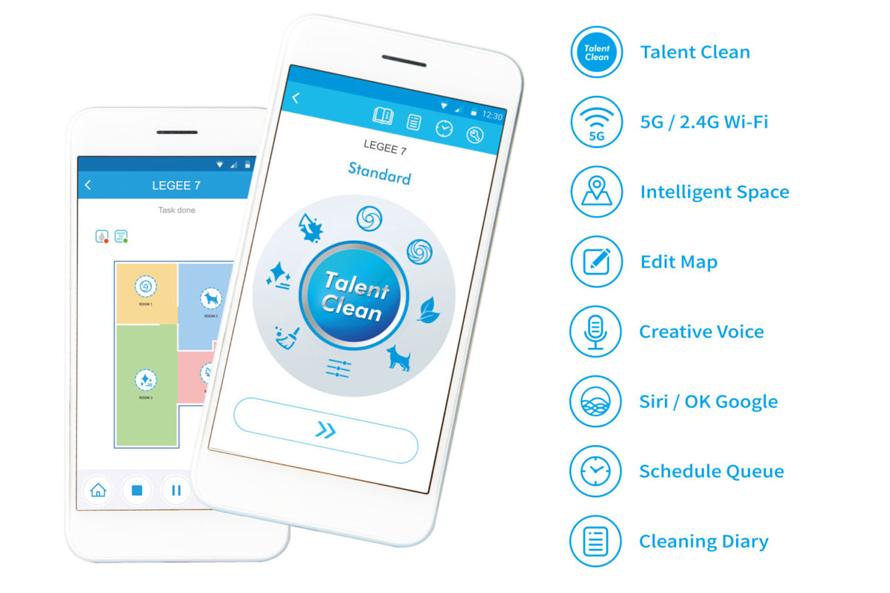Hobot Legee 7 Mobilní aplikace