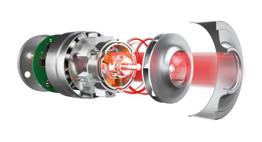 Hoover HGO710 011 účinný motor