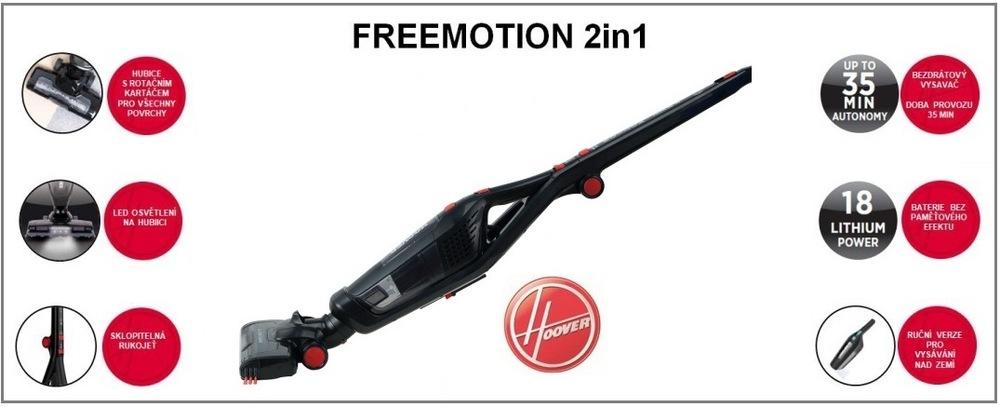 Hoover Freemotion FM18LI011 délka kabelu