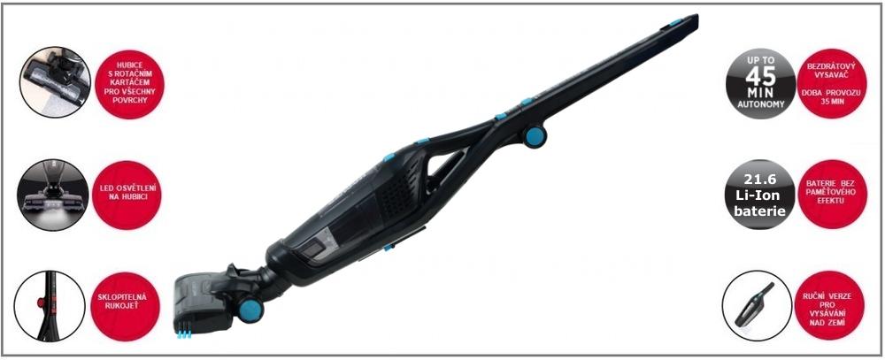 Hoover Freemotion fm216li011 délka kabelu