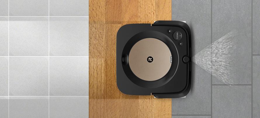 iRobot Braava jet m6 black - Na všechny typy tvrdých podlah