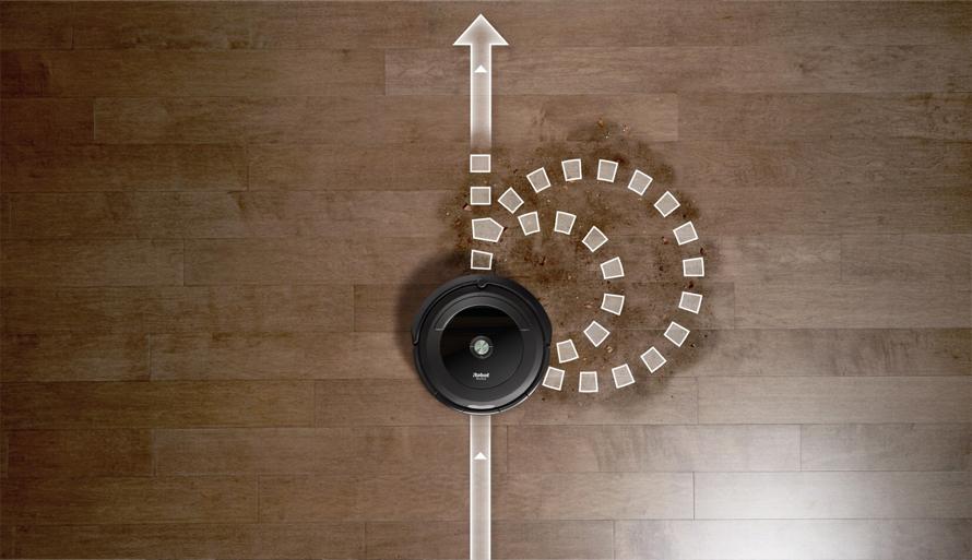iRobot Roomba e5 black program spot