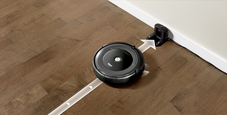 iRobot Roomba e5 silver nabijeci stanice