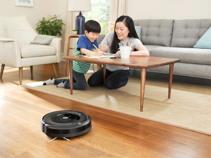 iRobot Roomba e5 black odložený úklid