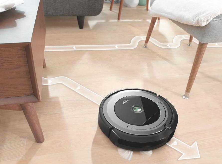 iRobot Roomba e5 black - navigace