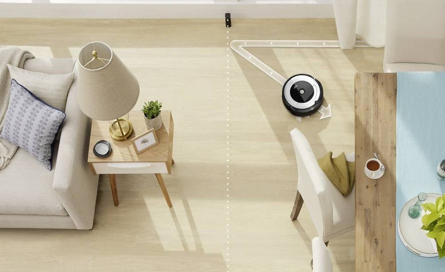 iRobot Roomba e5 silver virtuální zeď