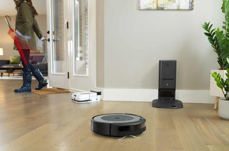 iRobot Roomba i3+ Light Technologie Imprint