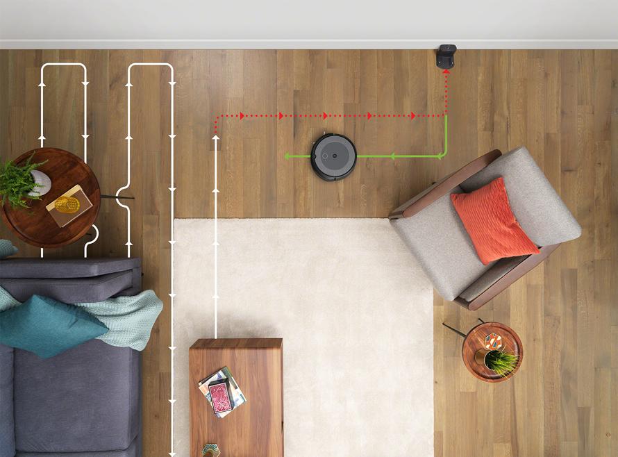 iRobot Roomba i3 Neutral navigace