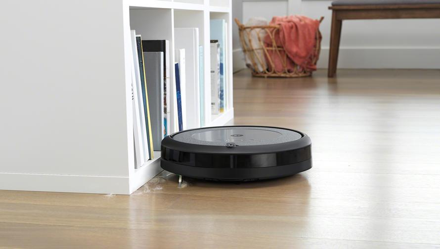 iRobot Roomba i3 Neutral Nárazník se zpomaleným dotykem